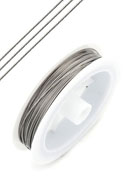 www.sayila.com - Steel wire with coated 0,8mm roll 18 meter - D07929