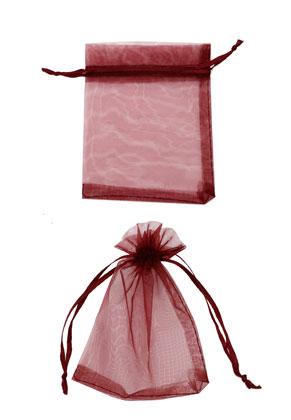 www.sayila.com - Textile gift bags Organza ± 120x90mm