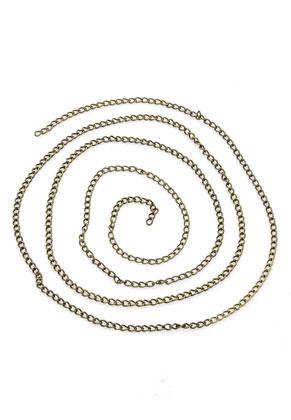 www.sayila.es - Cadena de metal, eslabón ± 4x2,5mm (1 metro por cadena)
