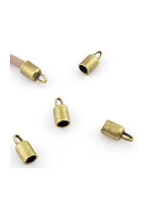 www.sayila.com - Metal caps ± 14x7mm (hole ± 5mm and eye ± 4x2mm)