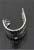www.sayila.com - Metal ear cuffs leaf, with hole ± 11x9mm (hole ± 1mm)