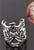 www.sayila.co.uk - Metal ear cuffs decorated ± 14x12mm