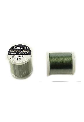 www.sayila.com - Miyuki Beading Thread/ nylon thread MNT-11, 330dtex 0,2mm (± 50m per roll)