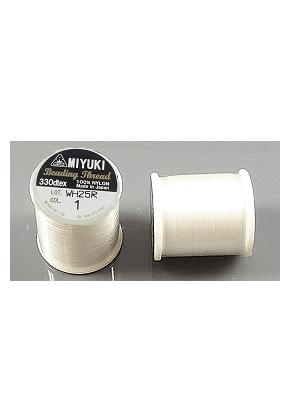 www.sayila.nl - Miyuki Beading Thread/ nylondraad MNT-01, 330dtex 0,2mm (± 50m per rol)