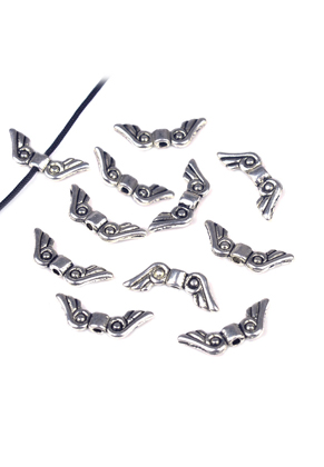 www.sayila.com - Metal beads wing ± 16x6mm (gat ± 1mm)