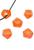 www.sayila-perlen.de - Großloch-Stil Kunststoffperlen Rondelle facette geschliffen ± 8x14mm (Loch ± 5,5mm)
