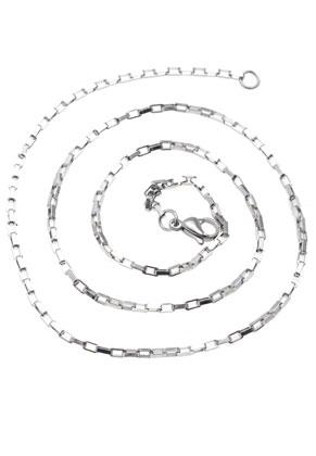 www.sayila-perlen.de - Edelstahl Halskette 50cm (± 2mm dick)