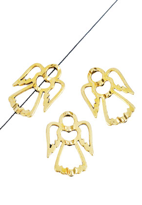 www.sayila.com - Metal beads angel 28x20mm