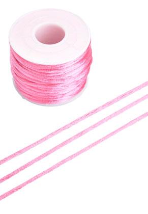 www.sayila.es - Cordón de seda imitación ± 2mm (± 19 metros por rollo)