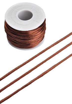 www.sayila.nl - Imitatie zijden koord ± 2mm (± 19 meter per rol) ^