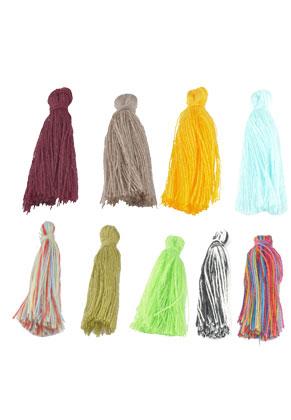 www.sayila.es - Borlas de textil ± 28x5mm
