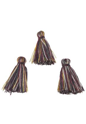 www.sayila.fr - Pompons en textile 20x15mm