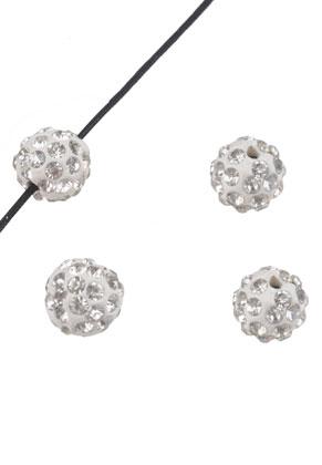 www.sayila.com - Polymer clay beads with strass round 10mm