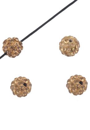 www.sayila.nl - Polymeerklei kralen met strass rond 10mm