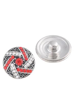 www.sayila.es - Botones de presión DoubleBeads EasyButton L de metal con strass 20mm