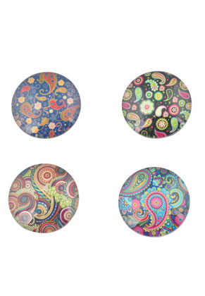 www.sayila.com - Mix glass flat backs/cabochon round 30mm