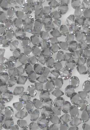 www.sayila.fr - Répliques de diamant en verre cristal circulaires 2,5mm (370 pcs.)