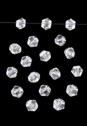 www.sayila.com - Glass beads bicone 4mm