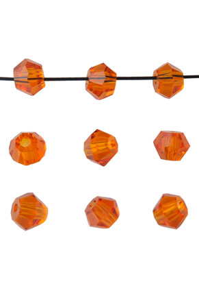 www.sayila.com - Glass beads bicone 4mm