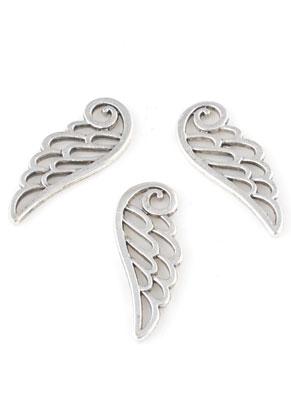 www.sayila.nl - Metalen hangers vleugel 24x10mm