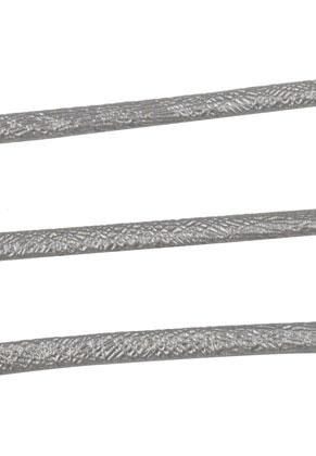 www.sayila.es - Cordón de cuero artificial con brillo metálico 300cm, 5,5x2,5mm grueso
