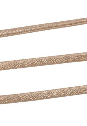 www.sayila.nl - Imitatieleren koord met metallic glans 300cm, 5,5x2,5mm dik