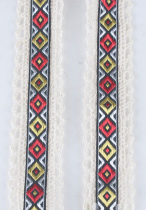 www.sayila.nl - Stoffen lint Aztec 100x3.2cm