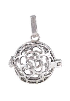 www.sayila.com - Metal pendant angel caller/Prayer Box 32x25mm
