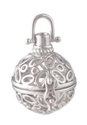 www.sayila.com - Metal pendant angel caller/Prayer Box 36x28mm