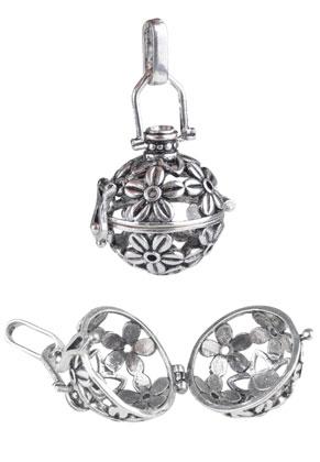www.sayila.fr - Pendentif en métal, appel aux anges/Prayer Box 42x25mm