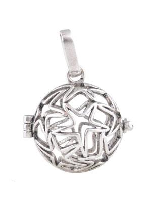 www.sayila.com - Metal pendant angel caller/Prayer Box 32x24mm