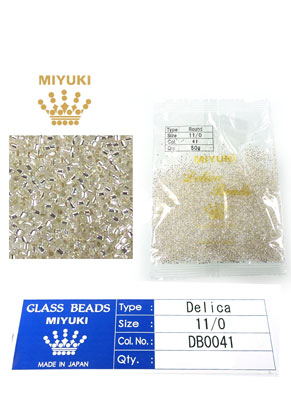 www.sayila.nl - Miyuki Delica Beads glas rocailles 11/0 1,6x1,3mm DB0041 (10000 st.)