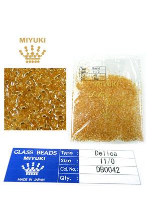 www.sayila.es - Miyuki Delica Beads rocailles de vidrio 11/0 1,6x1,3mm DB0042 (10000 pzs.)