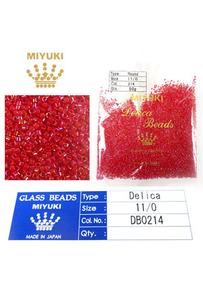 www.sayila.co.uk - Miyuki Delica Beads glass seed beads 11/0 1,6x1,3mm DB0214 (10000 pcs.)
