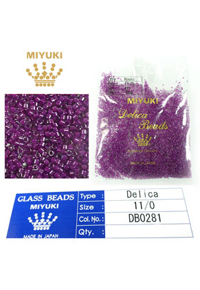 www.sayila.es - Miyuki Delica Beads rocailles de vidrio 11/0 1,6x1,3mm DB0281 (10000 pzs.)