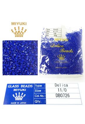 www.sayila.nl - Miyuki Delica Beads glas rocailles 11/0 1,6x1,3mm DB0726 (10000 st.)
