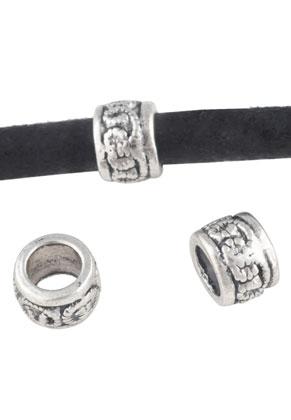 www.sayila.nl - Groot-gat-style metalen kralen 9x6,5mm