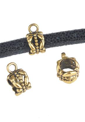 www.sayila.fr - Style grand-trou perles en métal avec oeil 12x8mm
