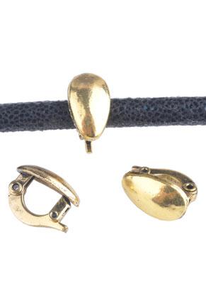 www.sayila.nl - Metalen klemmetjes voor hangers 13x8mm