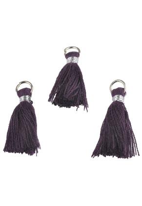 www.sayila.fr - Pompons en textile 28x10mm