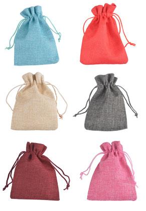 www.sayila.es - Mezcla de bolsas de textil para regalos 13,5x9cm