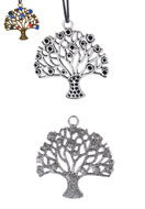 www.sayila.com - Metal pendants tree 45x42mm with settings for 2mm and 3mm pointed backs - D20940