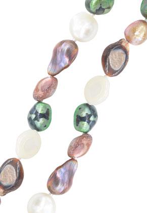 www.sayila.fr - Perles authentiques d'eau douce irrégulières 6-20mm