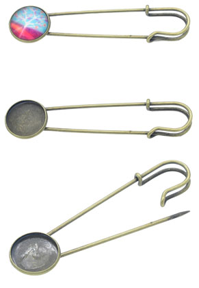www.sayila.com - Metal brooch needles 77x20mm with setting for 18mm flatback