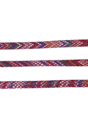 www.sayila.es - Cordón de cuero artificial 200cm, 5,5x2mm grueso