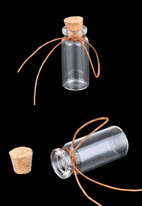 www.sayila.fr - Bouteilles en verre avec bouchon 55x22mm