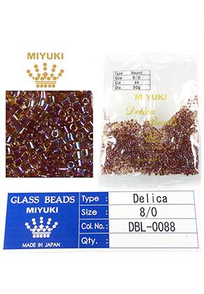 www.sayila.com - Miyuki Delica Beads glass seed beads 8/0 3x2,7mm DBL-0088 (1500 pcs.)