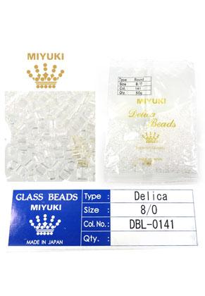 www.sayila.com - Miyuki Delica Beads glass seed beads 8/0 3x2,7mm DBL-0141 (1500 pcs.)