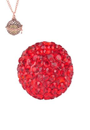 www.sayila.be - Strass klankbol rond 17mm