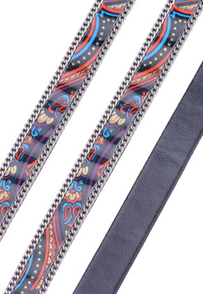 www.sayila.fr - Bande de cuir artificiel 100cm, largeur 10mm